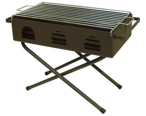 Parrilla plegable portátil para exterior